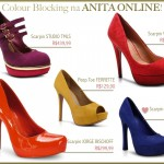 Colour Blocking Shoes na Anita!