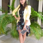 Look blazer amarelo