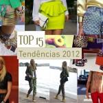 TOP 15 – Tendências 2012