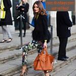 Usando calças estampadas – Street Style